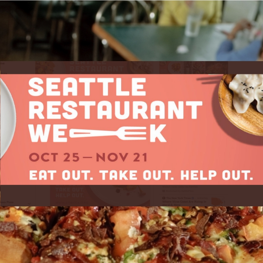 Pegasus Pizza is doing Seattle Restaurant Week!